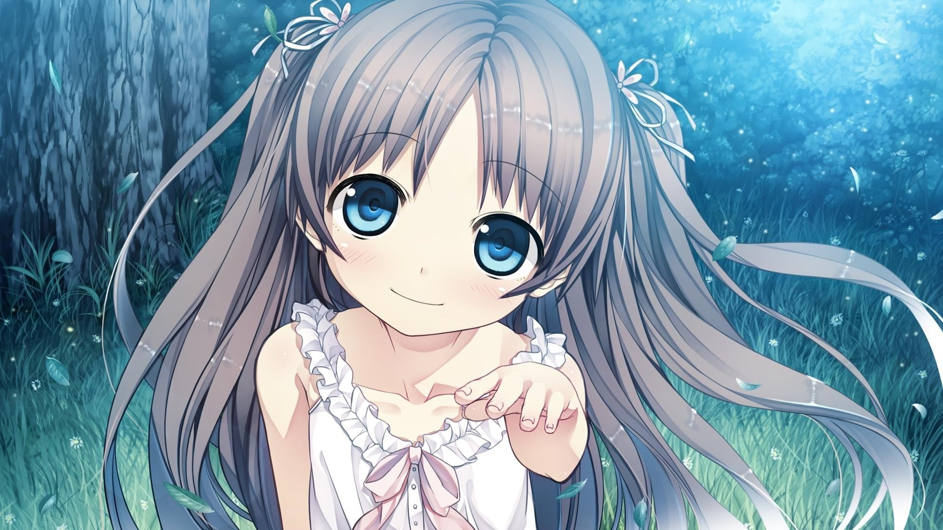 Cute Anime Girl Wallpaper for pc