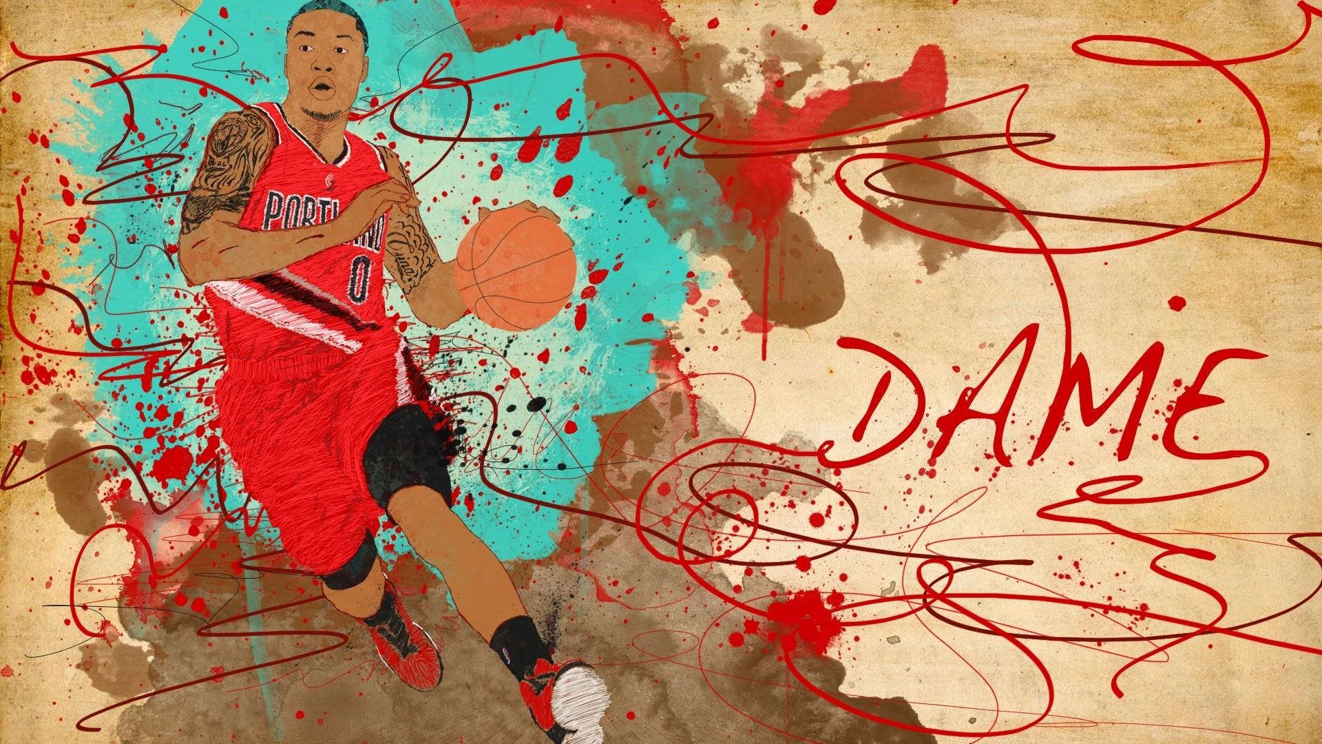 Damian Lillard Full HD Wallpaper