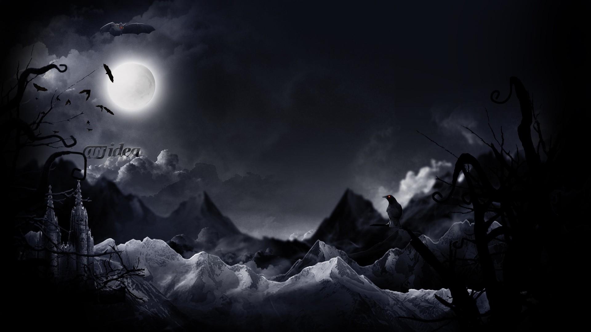 Dark Theme PC Wallpaper