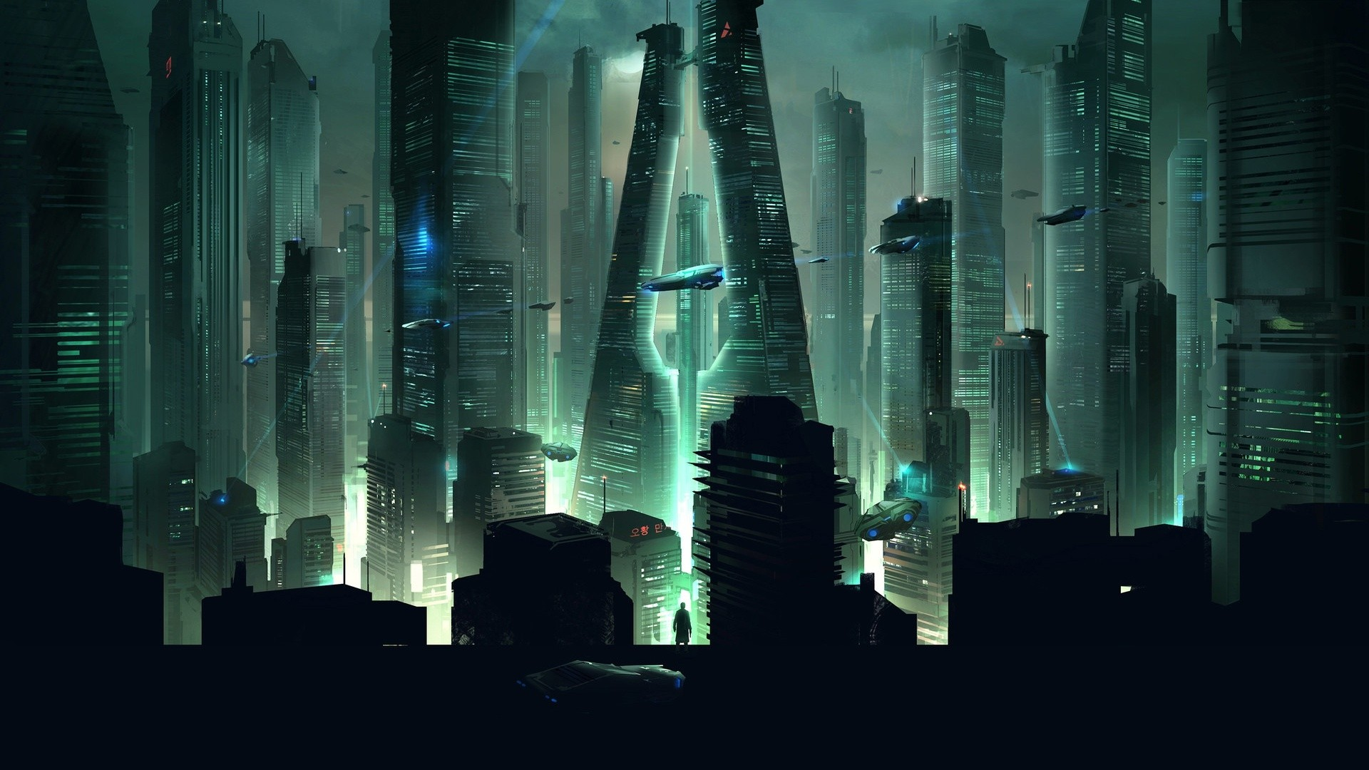 Futuristic Free Wallpaper and Background