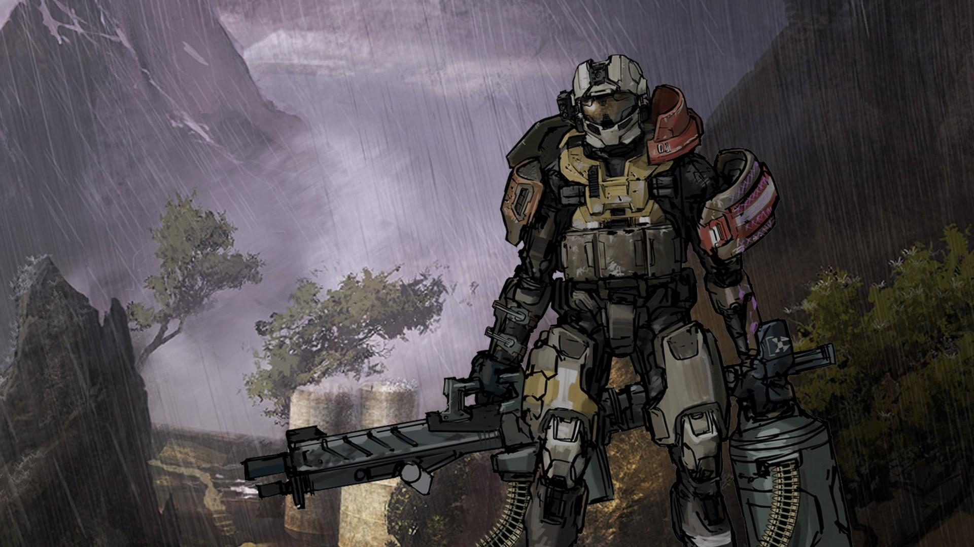 Halo Reach Background
