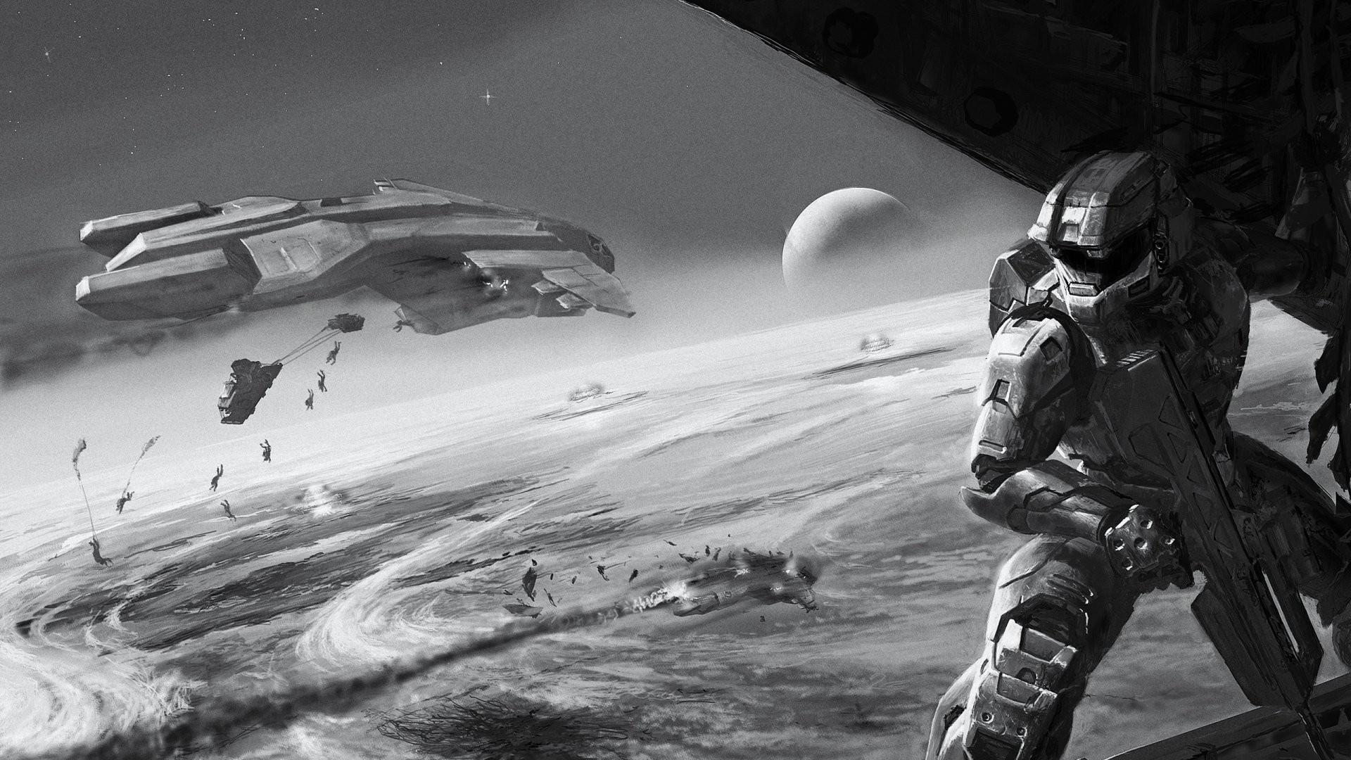 Halo Reach Full HD Wallpaper
