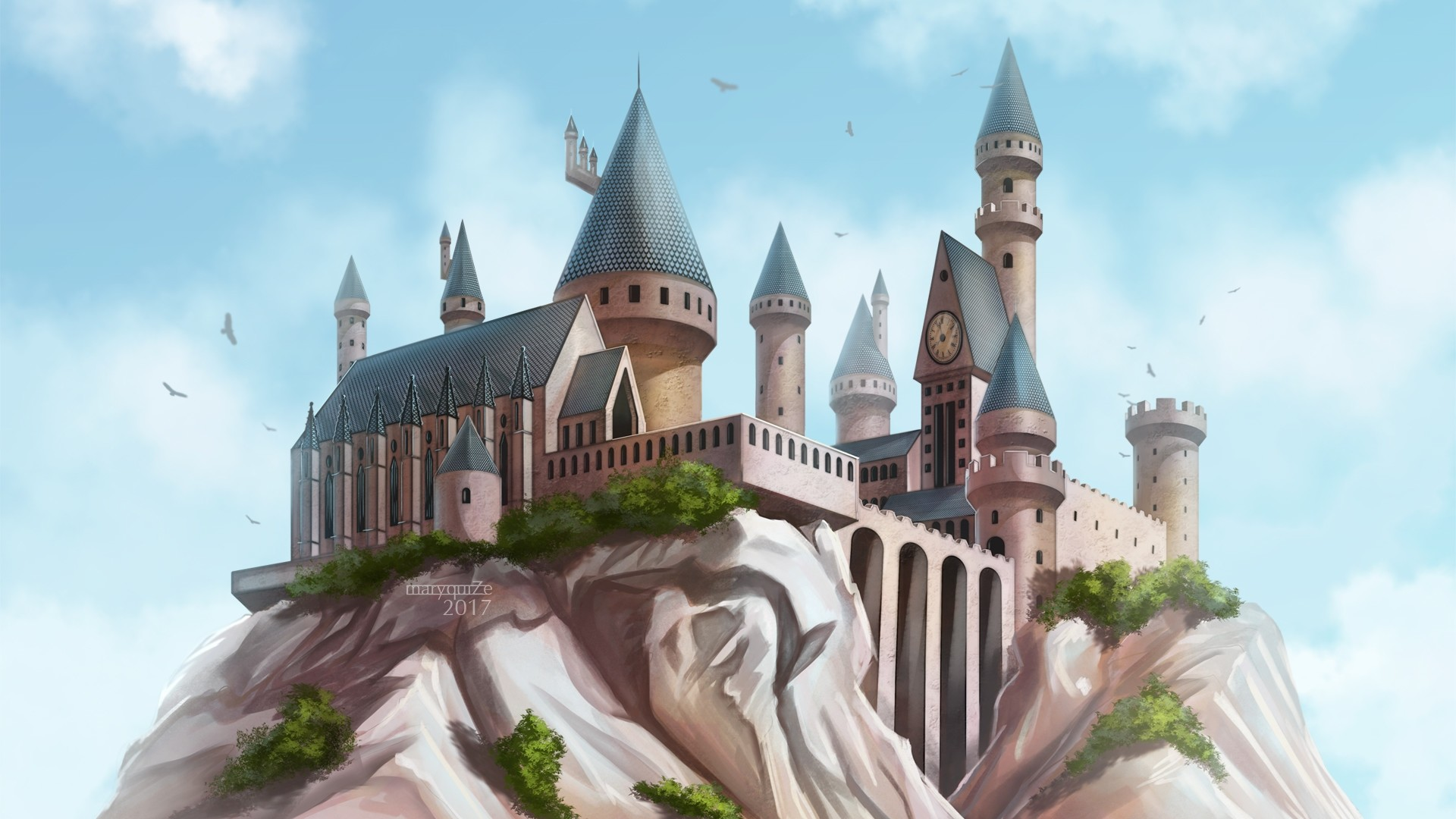 Hogwarts Background