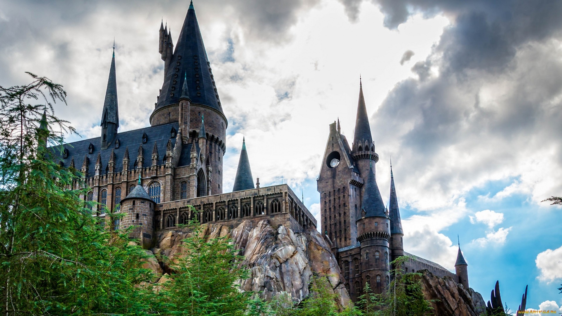 Hogwarts Wallpaper image hd