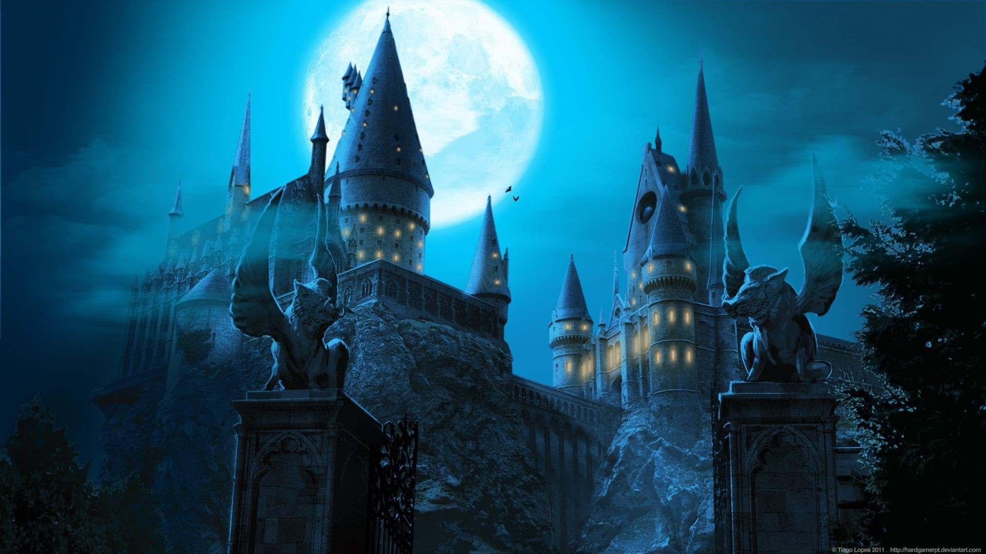 Hogwarts Desktop Wallpaper