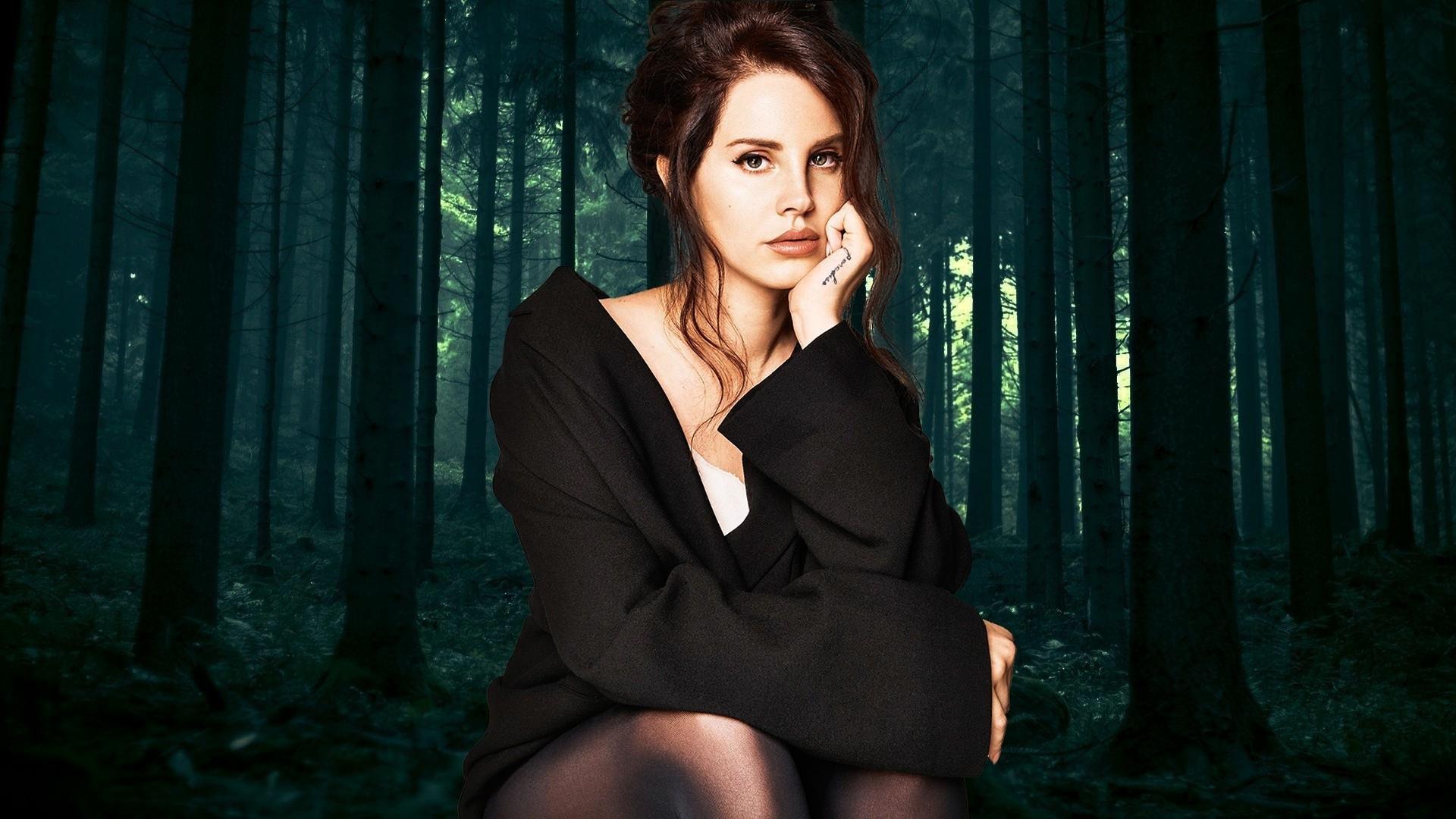 Lana Del Rey Full HD Wallpaper