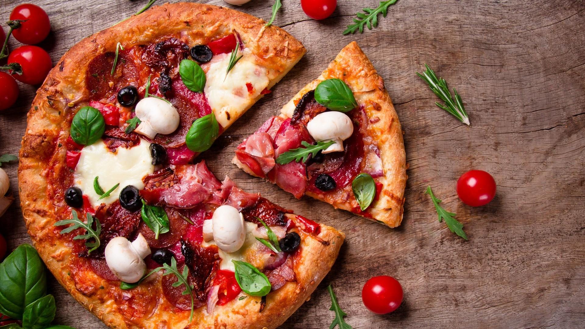 Pizza Wallpaper image hd