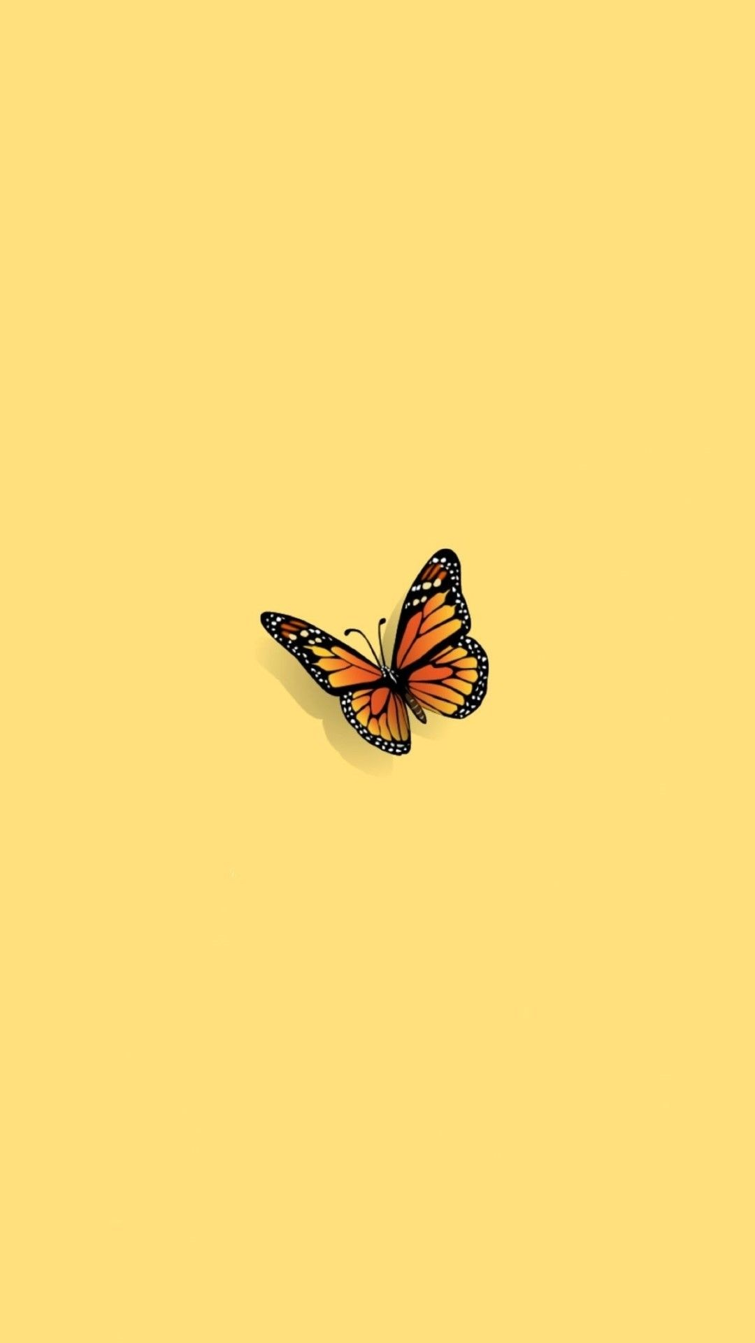 Aesthetic Butterfly ios wallpaper