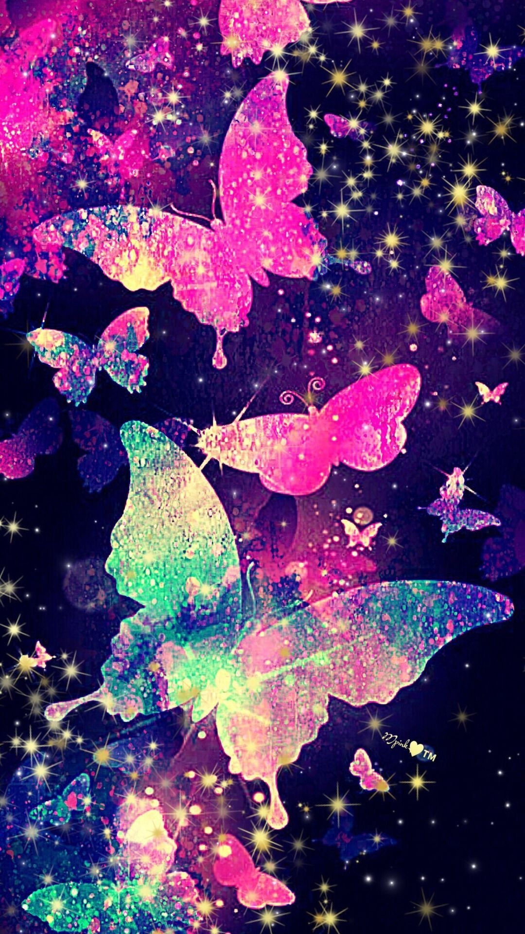 Aesthetic Butterfly iphone wallpaper high quality