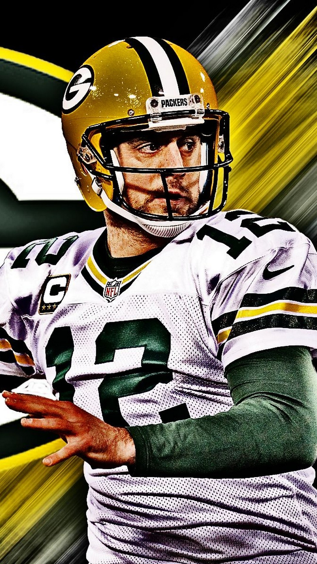 Aaron Rodgers hd wallpaper for iphone