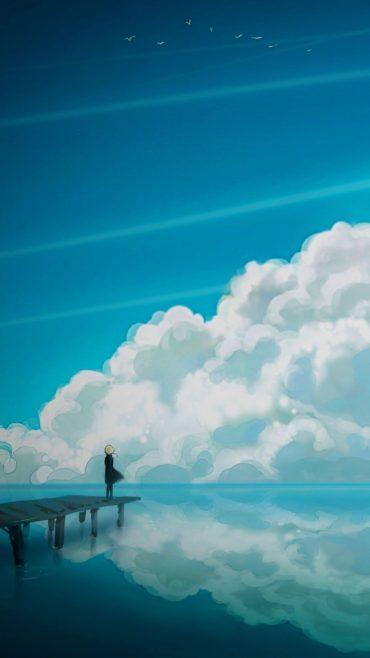 Anime screensaver wallpaper