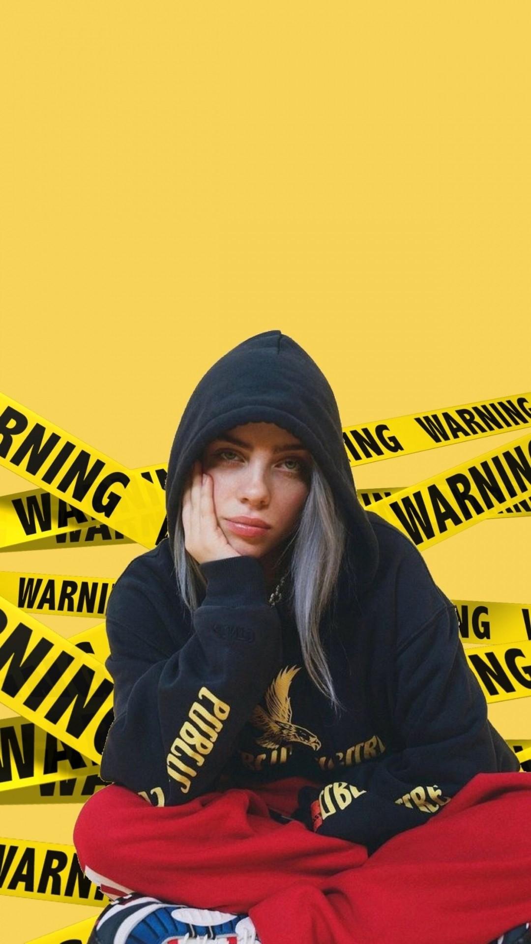 Billie Eilish phone wallpaper hd