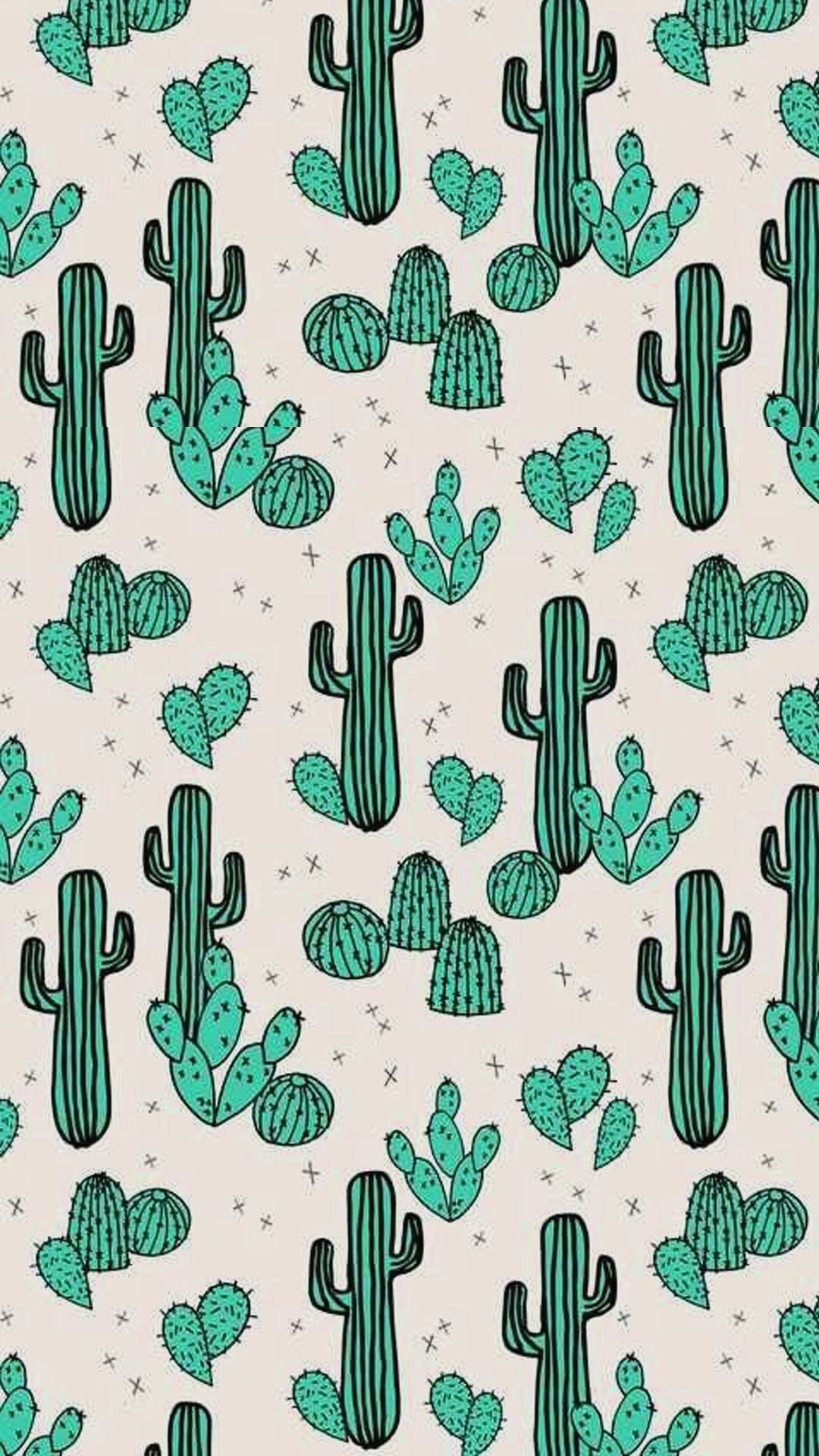 Cactus iphone 6 wallpaper
