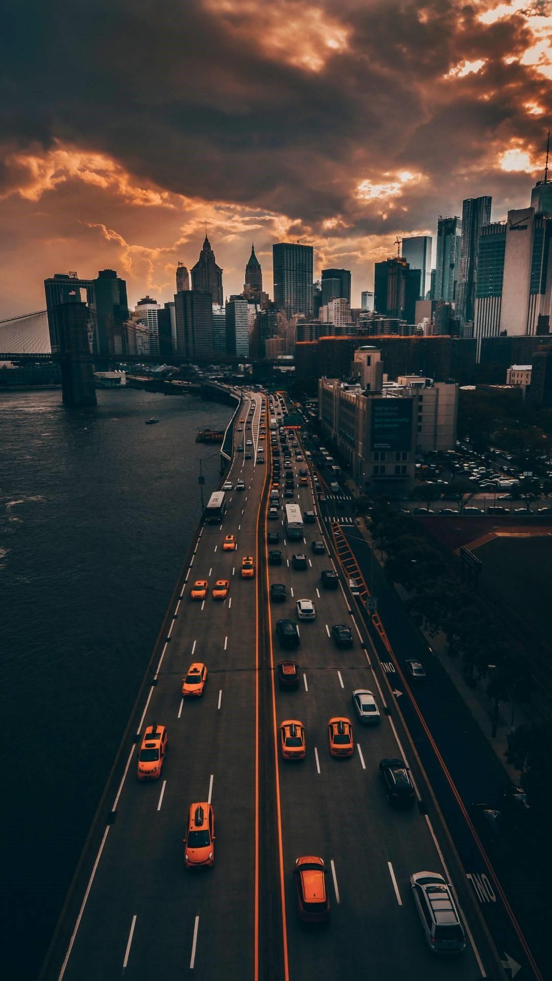 City wallpaper iphone