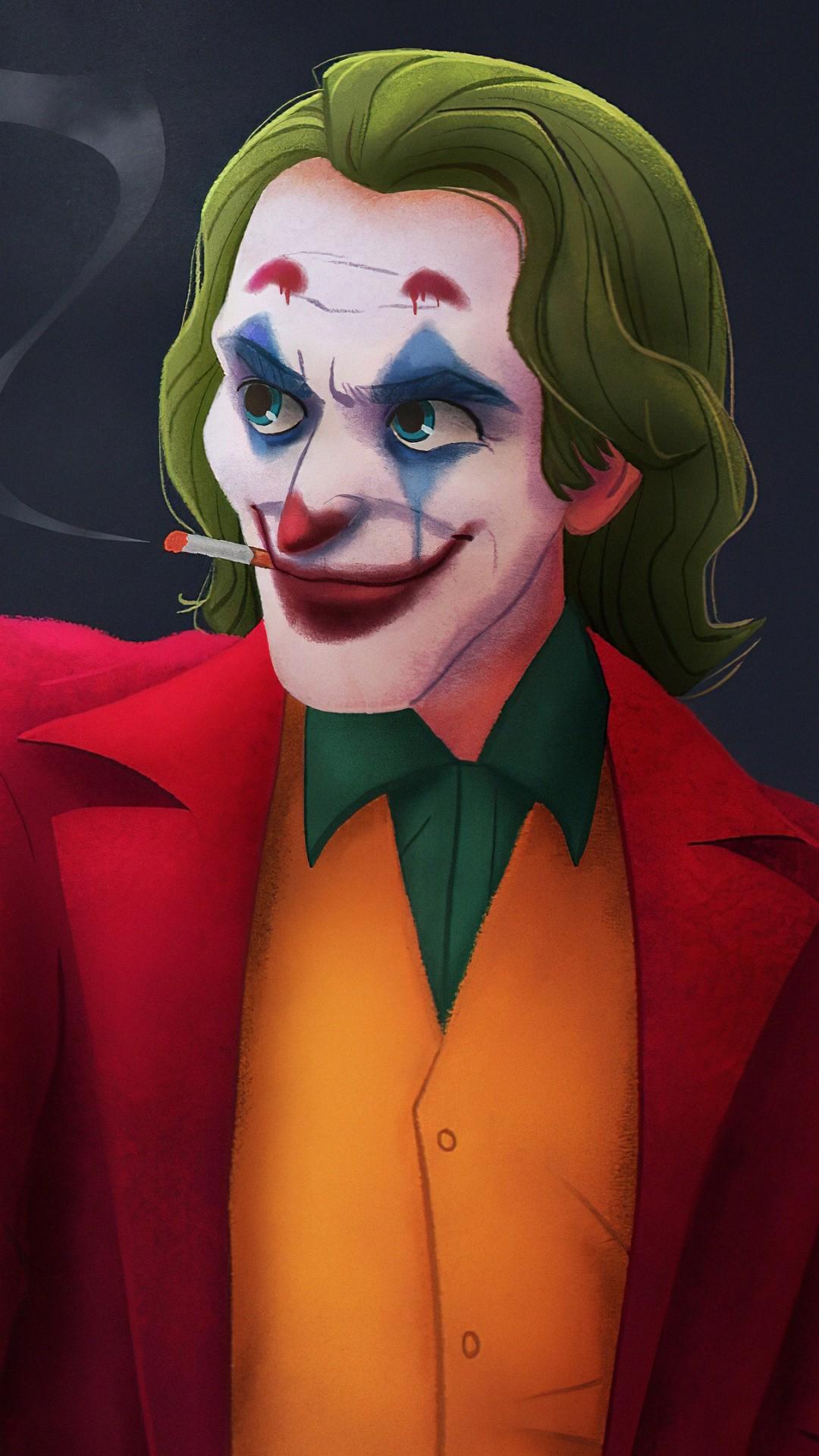 Clown iphone home screen wallpaper