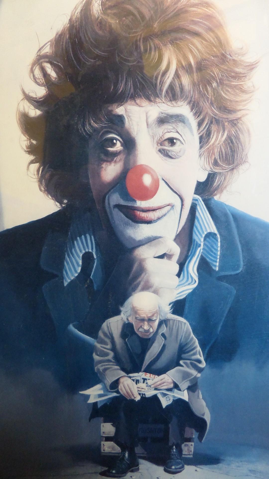 Clown screensaver wallpaper