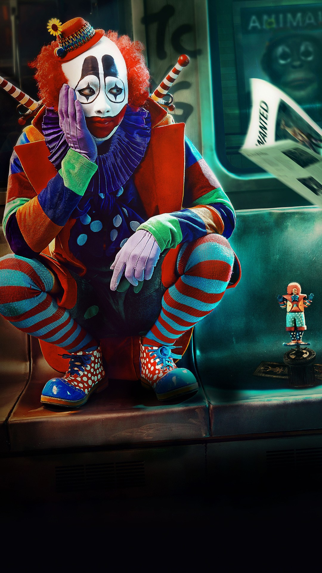 Clown free wallpaper for android