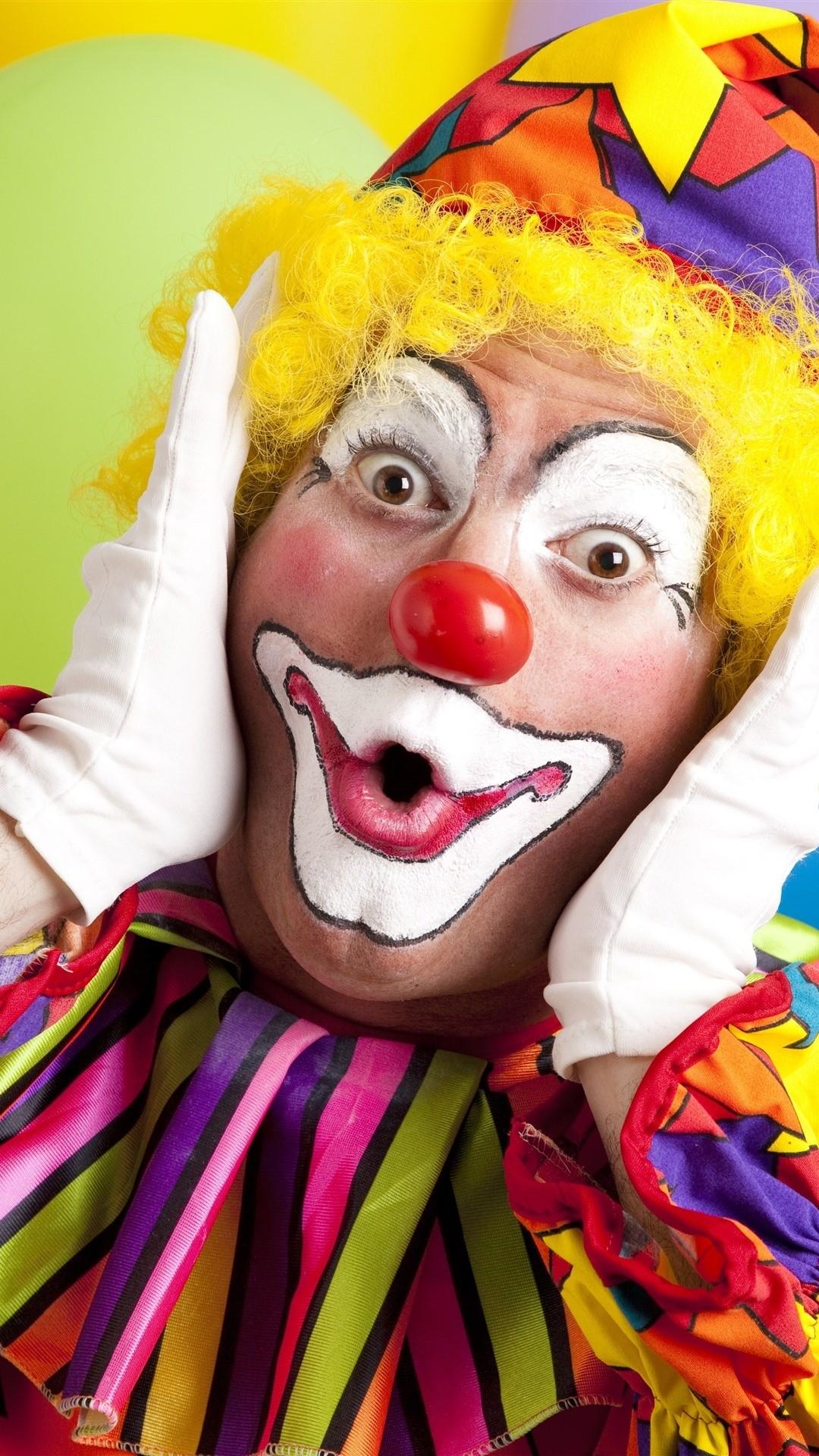 Clown ios wallpaper