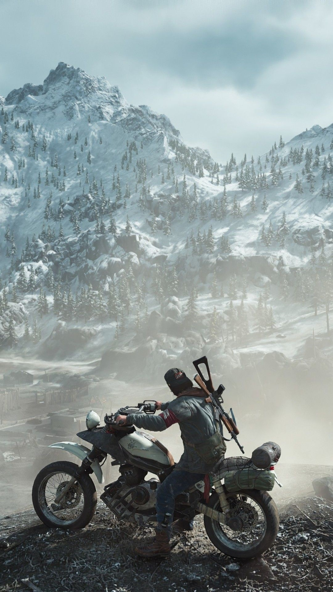 Days Gone iphone home screen wallpaper