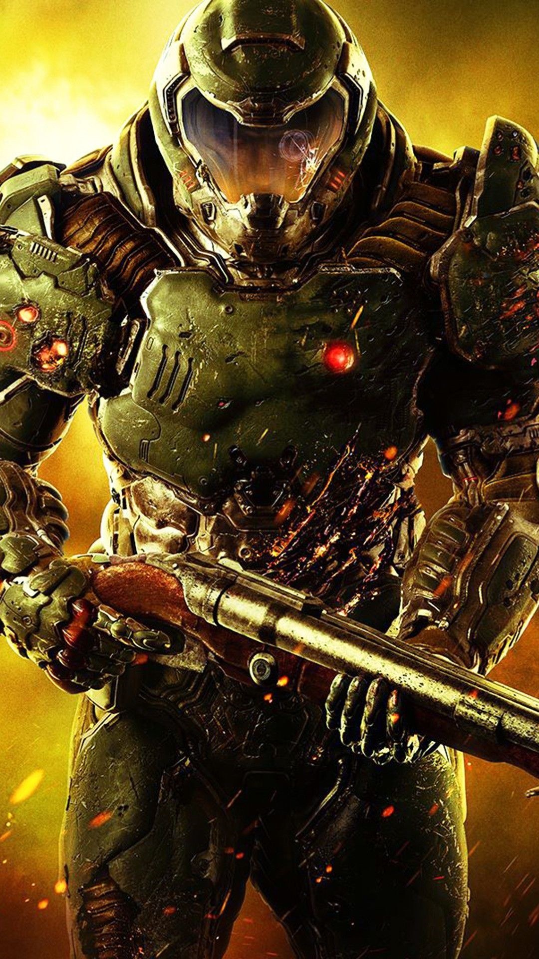 Doom Eternal hd wallpaper for iphone