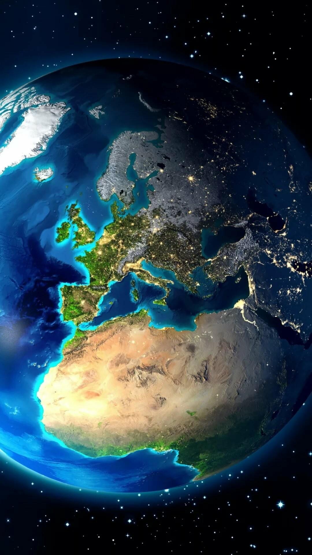 Earth ios wallpaper