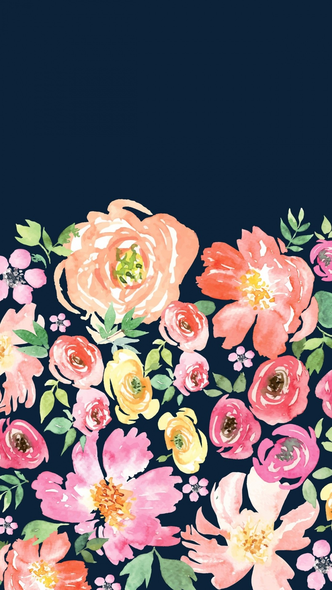 Floral iphone