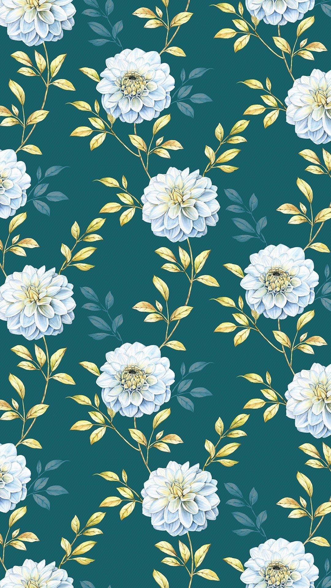 Floral iphone 8 plus wallpaper
