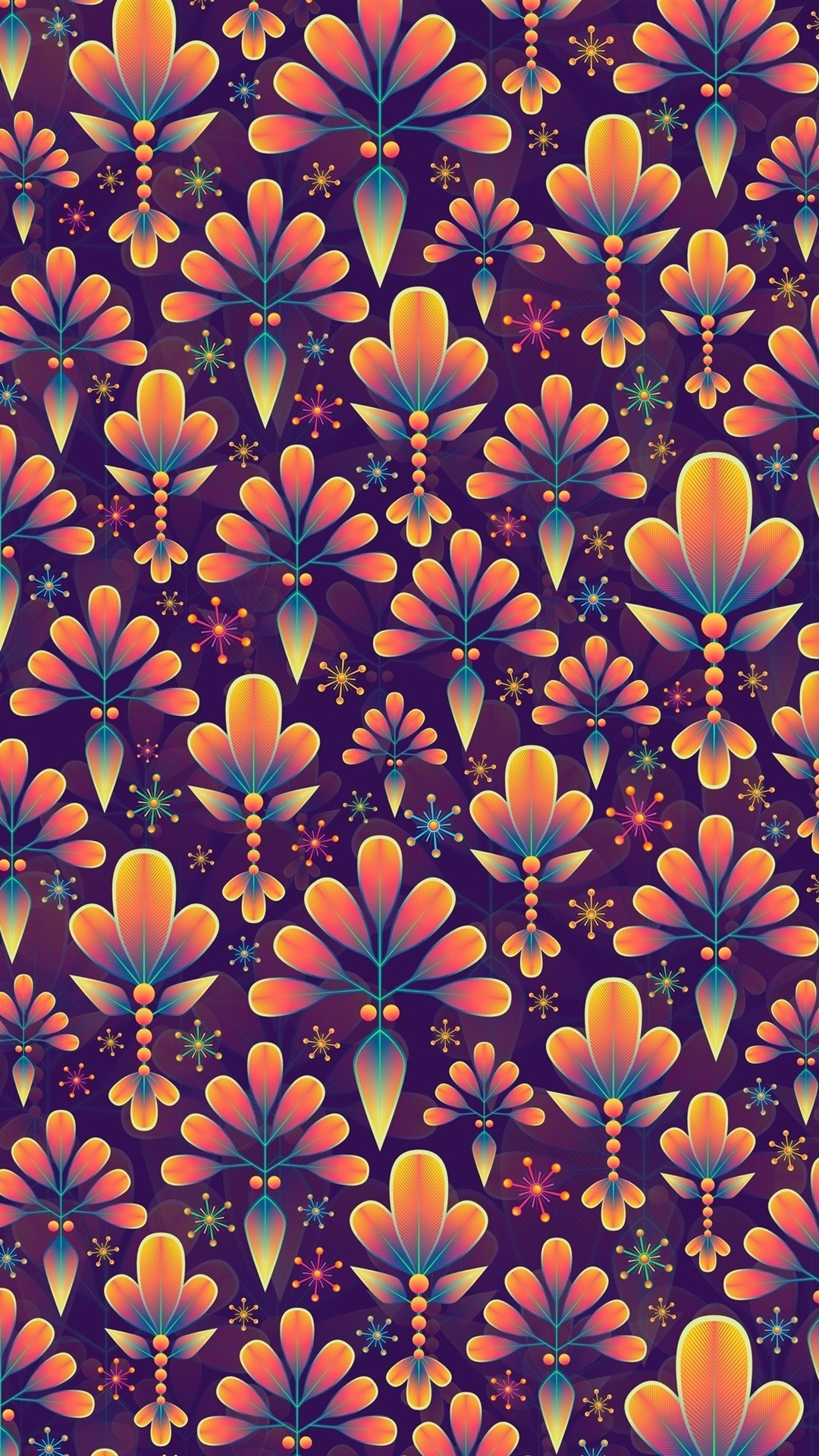 Floral wallpaper for android