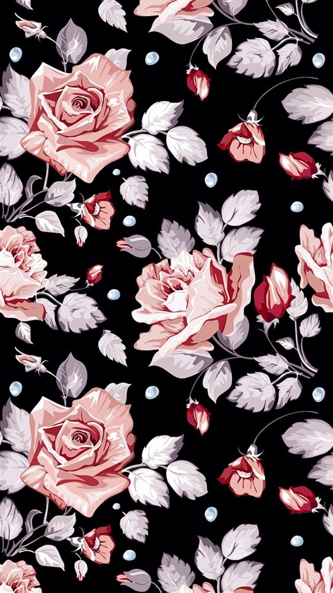 Floral iphone 6s plus wallpaper