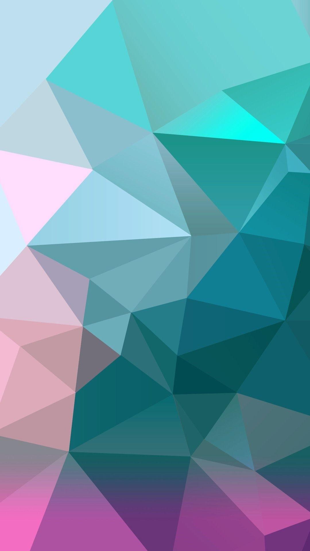 Geometric ios wallpaper