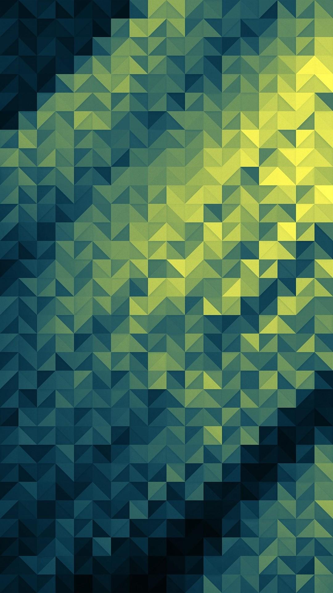Geometric screensaver wallpaper