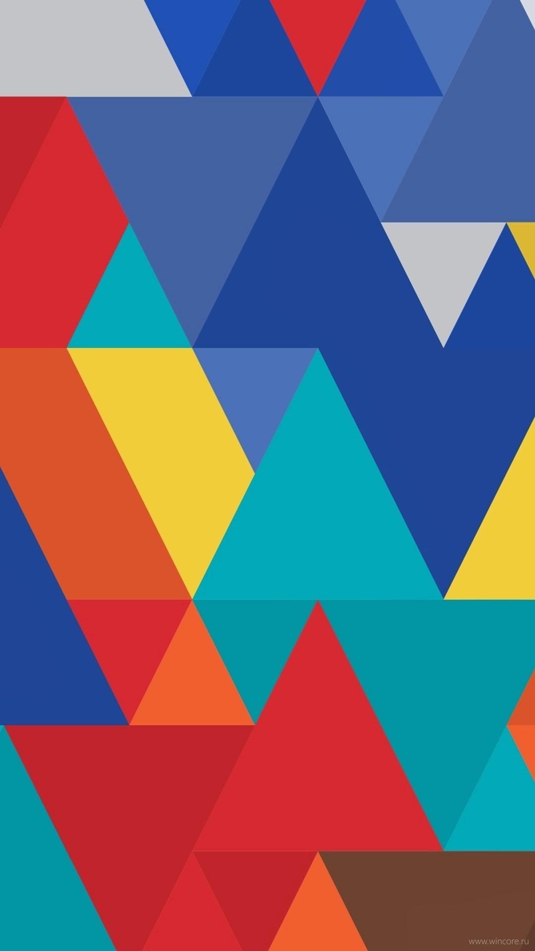 Geometric hd wallpaper for mobile