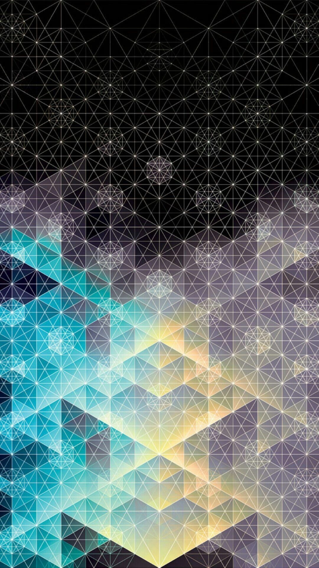 Geometric iphone 6s plus wallpaper