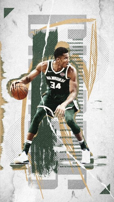 Giannis Antetokounmpo iphone 7 wallpaper