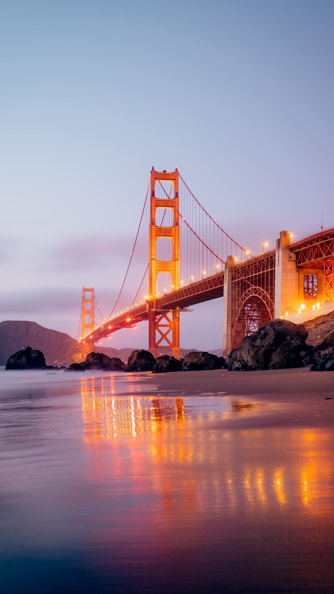 Golden Gate Bridge ios wallpaper