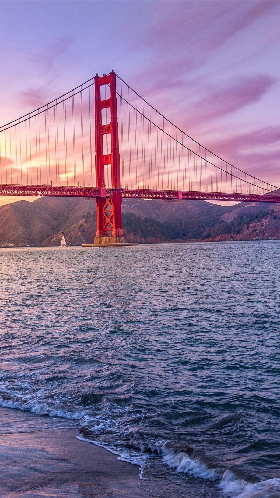 Golden Gate Bridge wallpaper for iphone