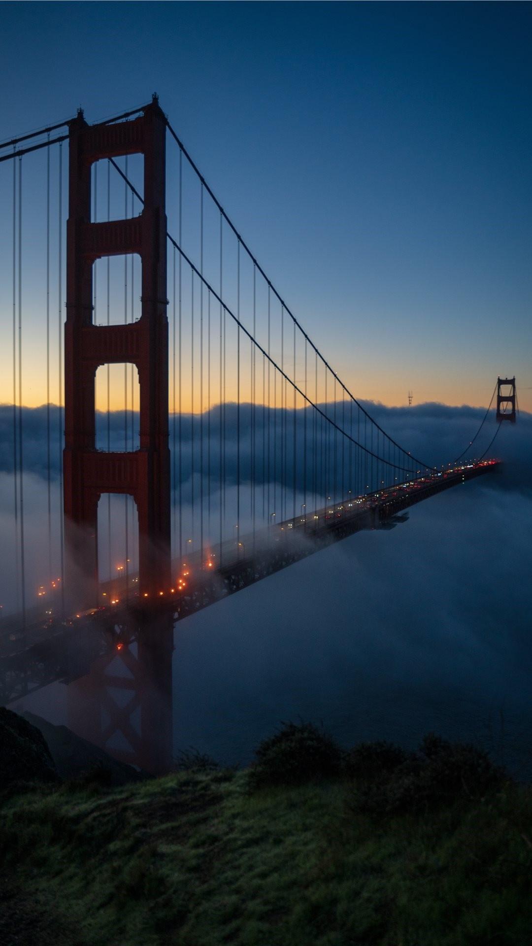 Golden Gate Bridge iphone 6s plus wallpaper
