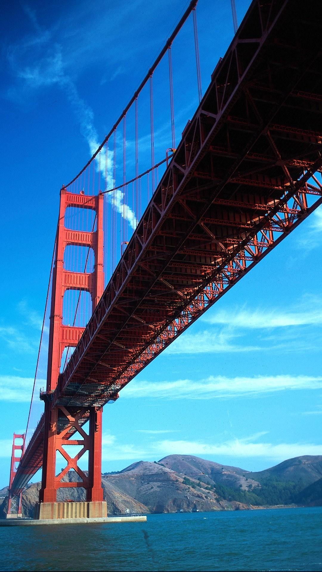Golden Gate Bridge phone wallpaper hd
