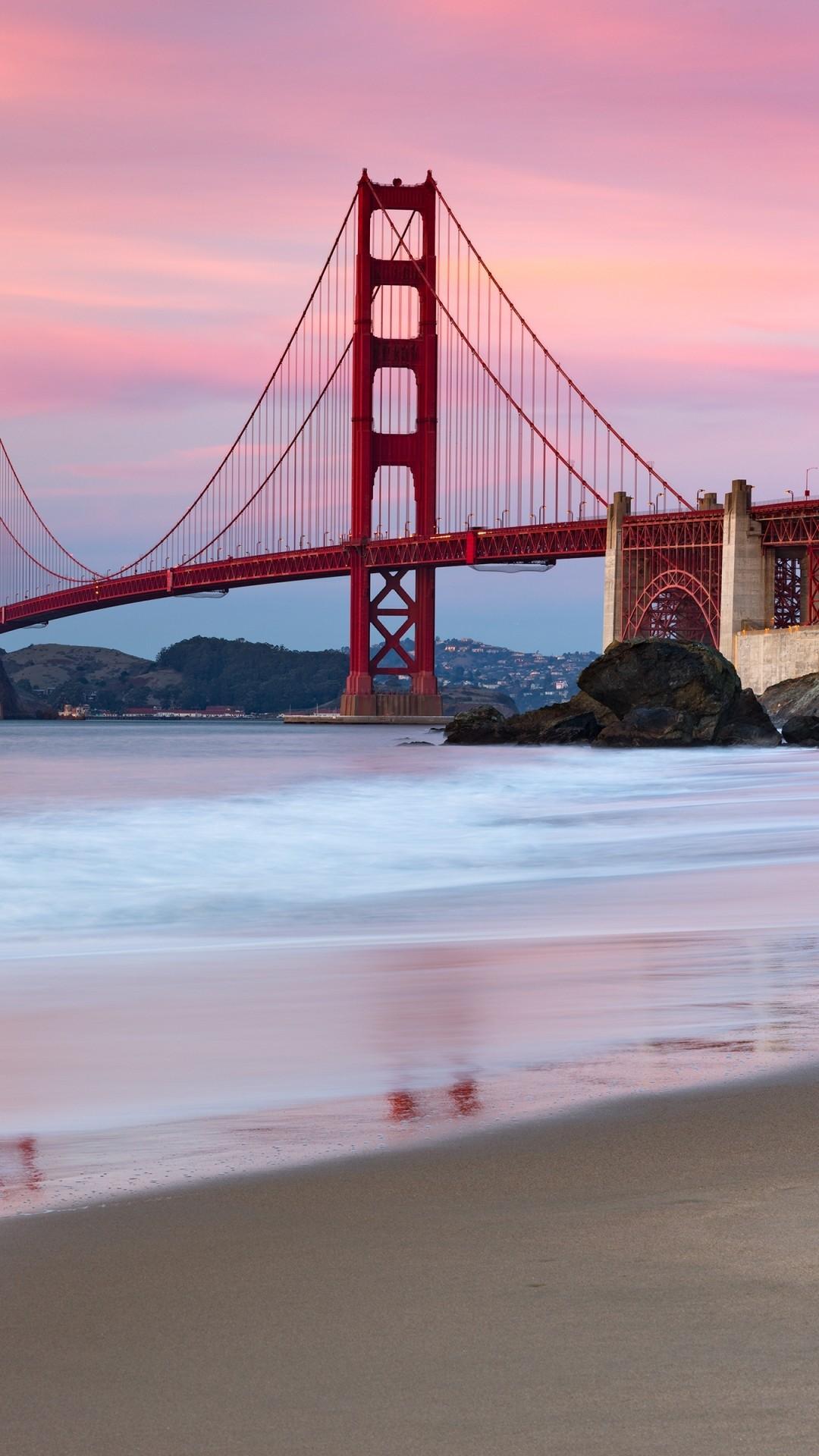 Golden Gate Bridge iphone 7 wallpaper