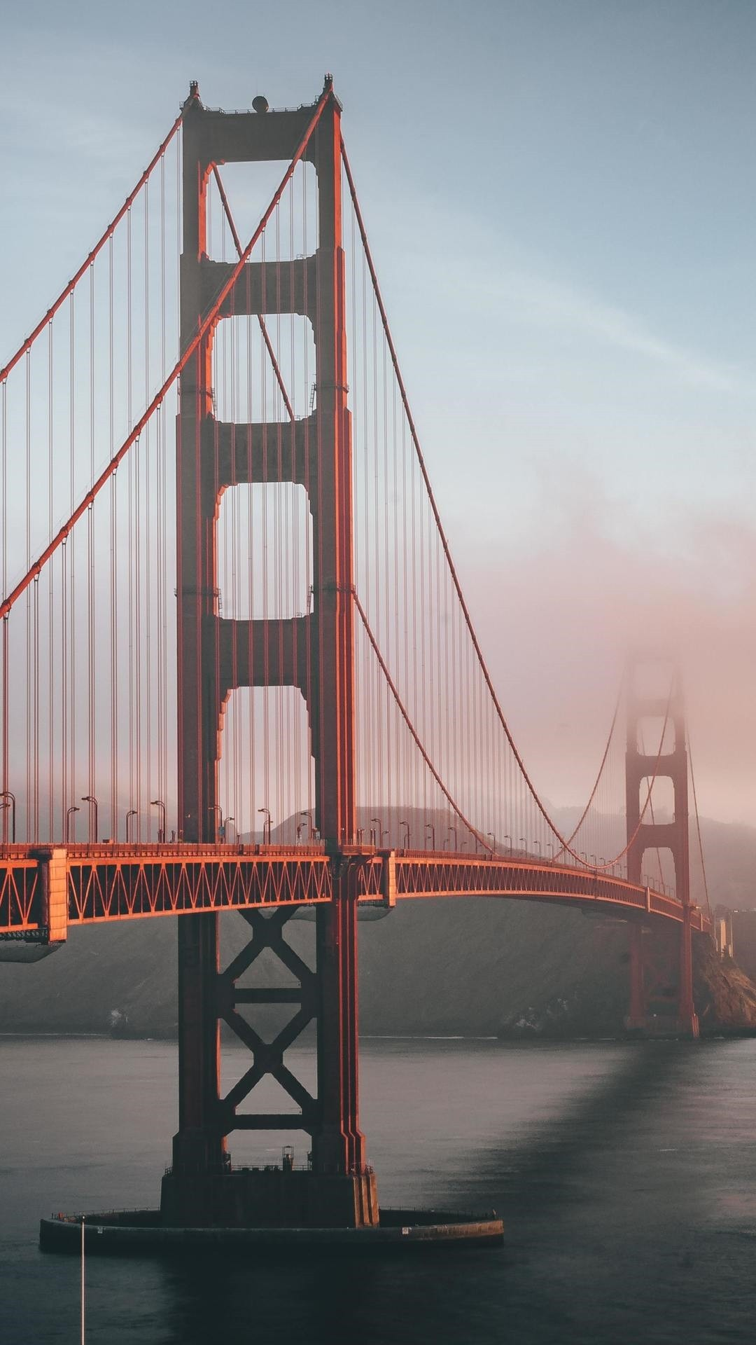Golden Gate Bridge iphone 8 plus wallpaper