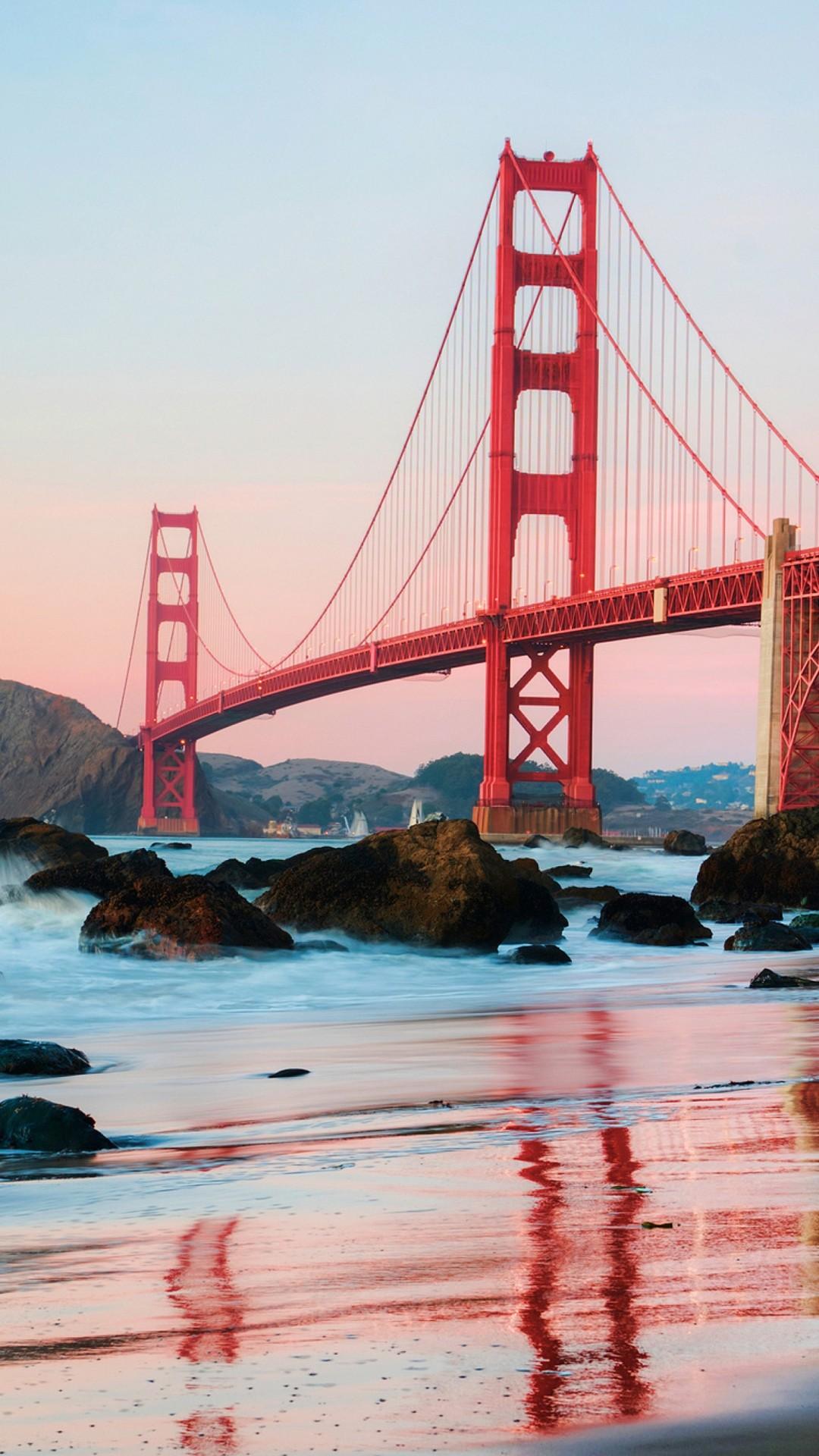 Golden Gate Bridge iphone wallpaper