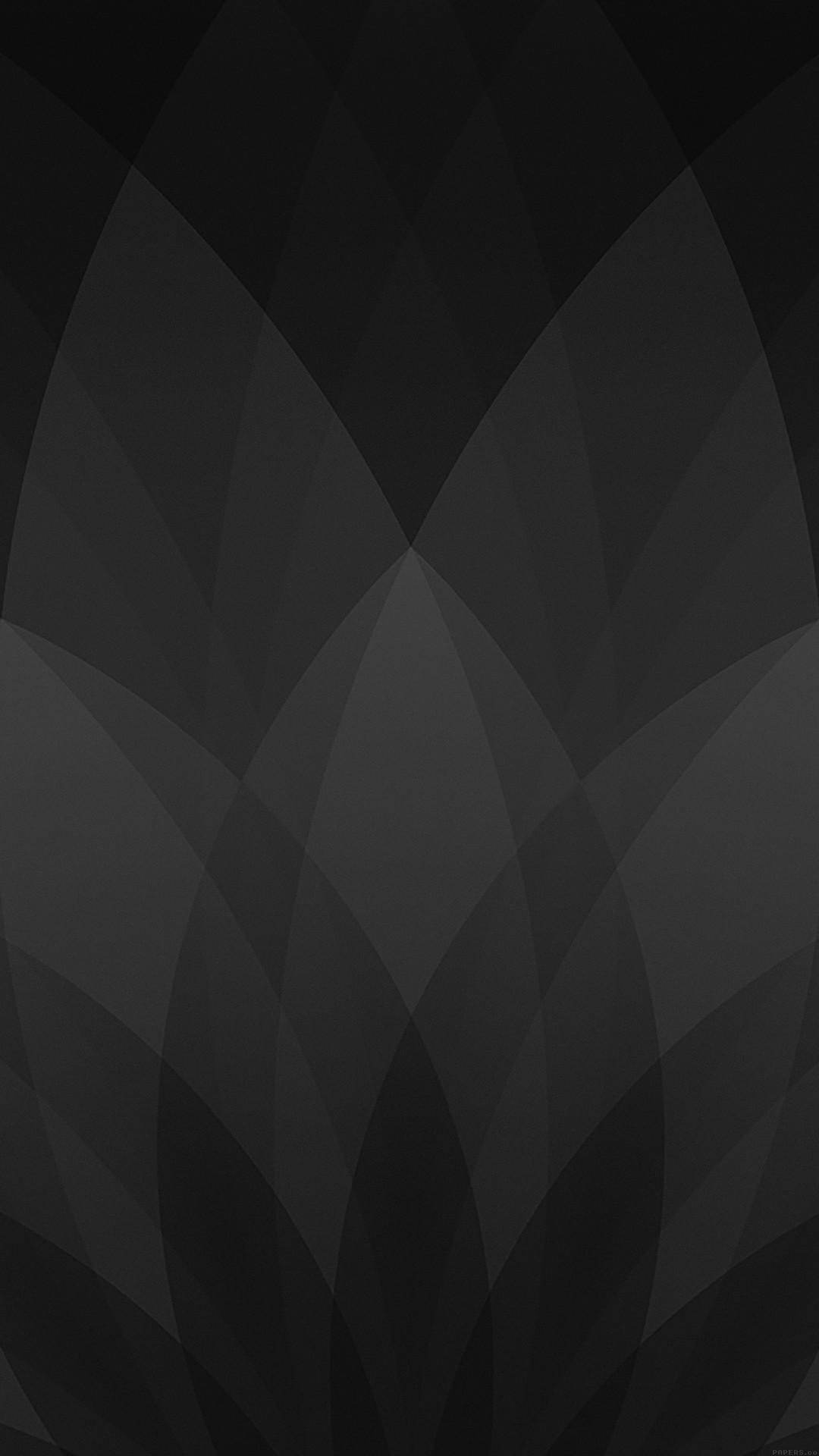 Gray iphone home screen wallpaper