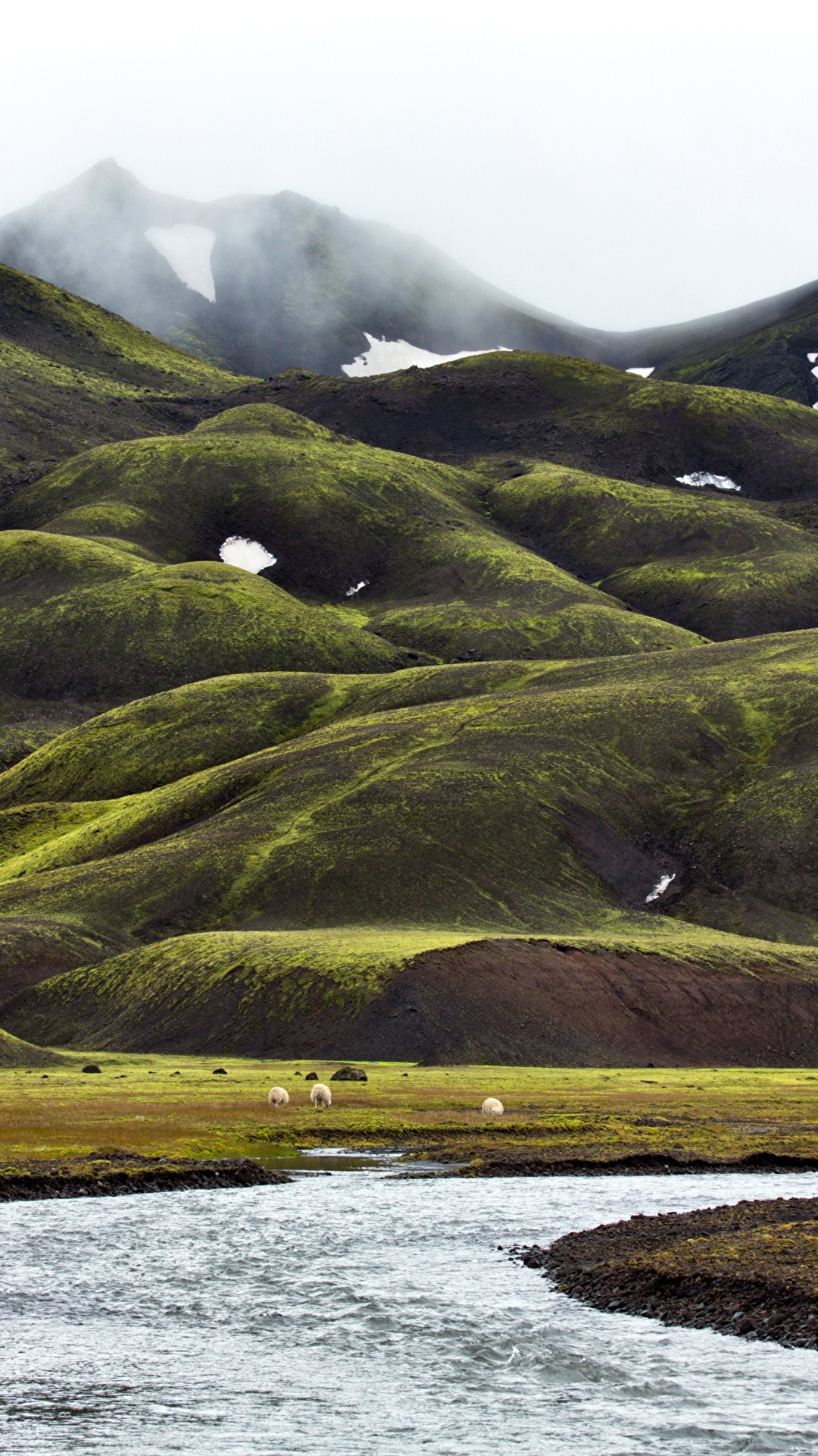 Iceland iphone home screen wallpaper
