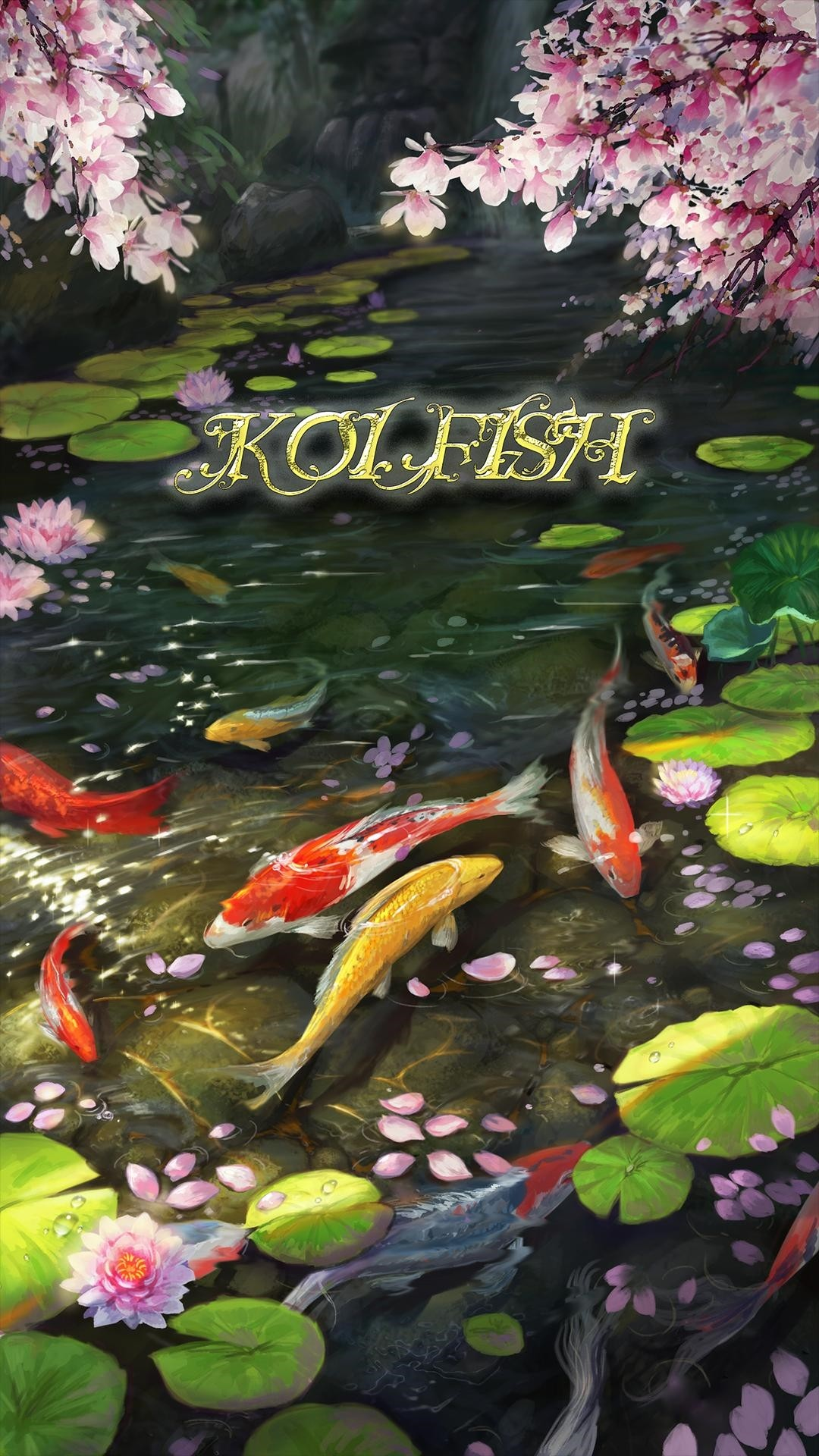 Koi Fish iphone