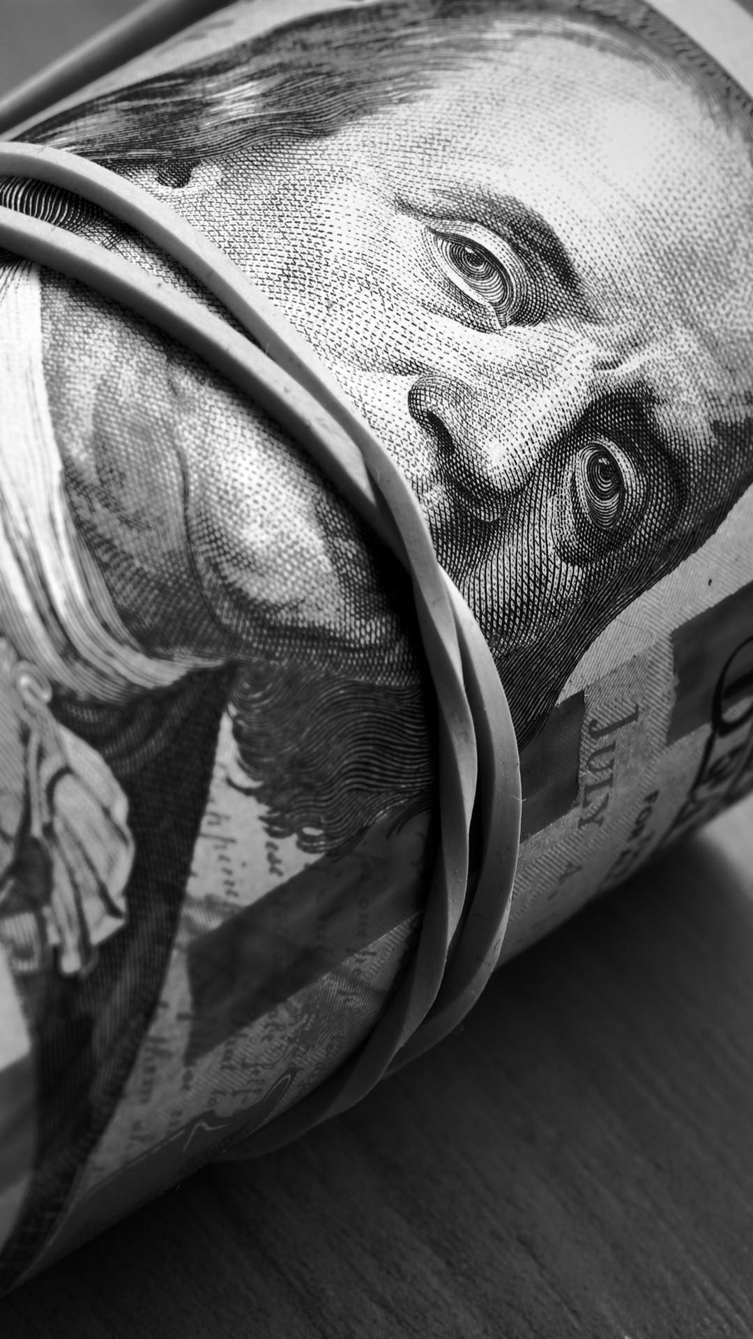 Money iphone home screen wallpaper