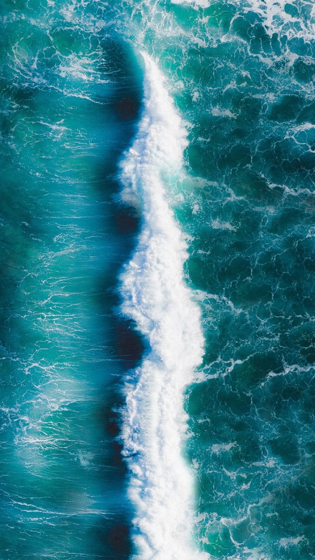 Ocean screensaver wallpaper