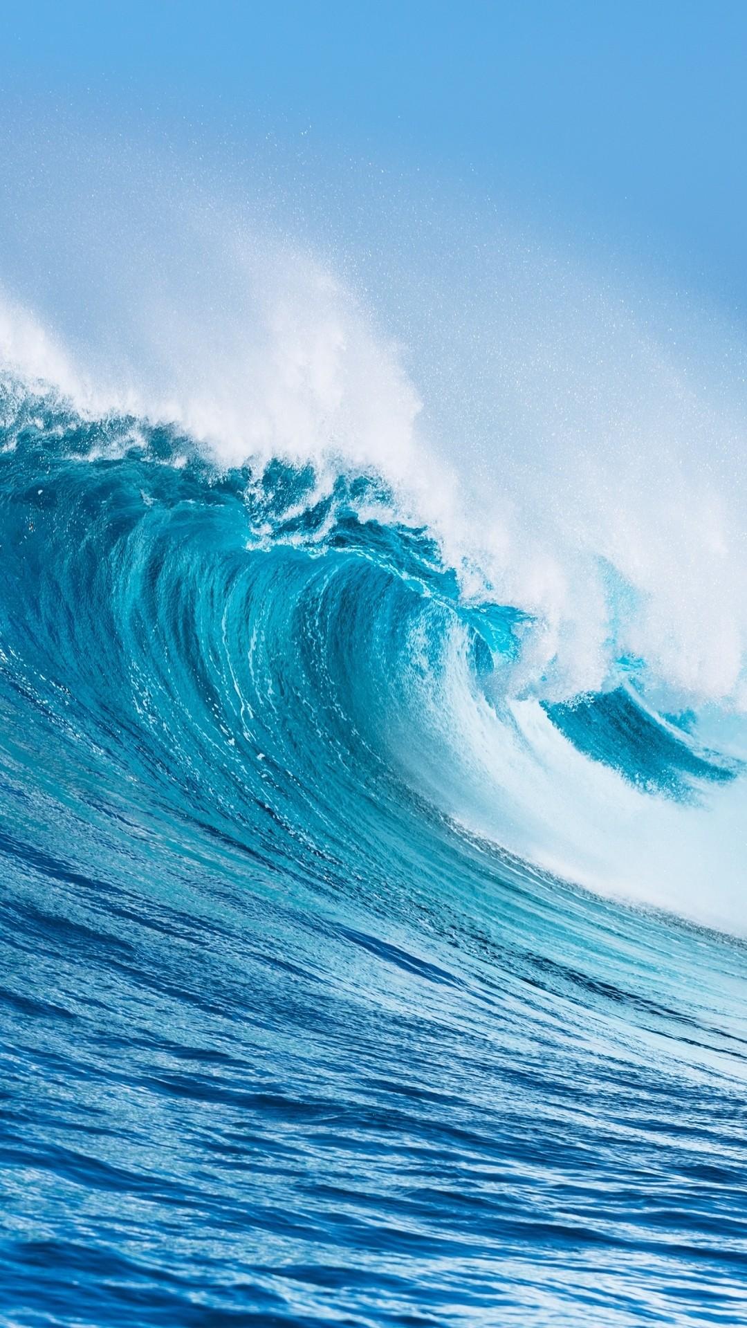 Ocean Waves hd wallpaper for iphone