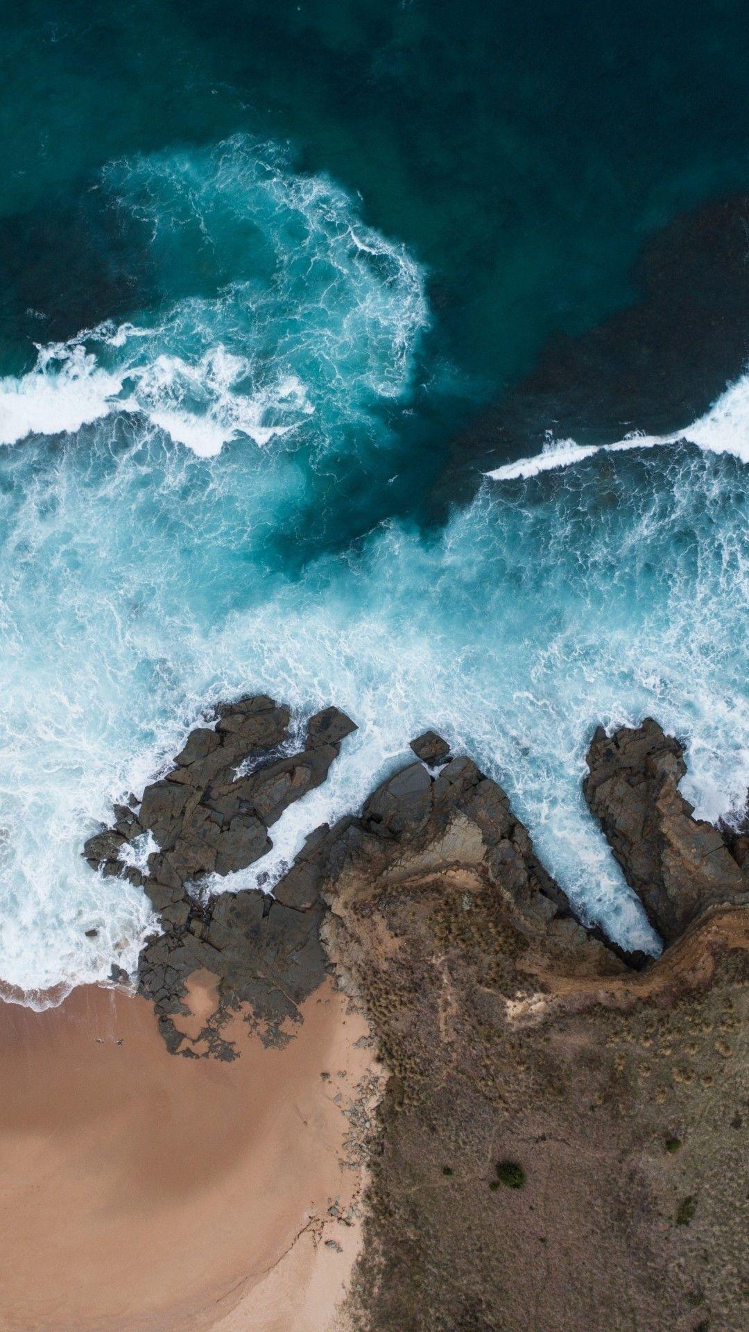 Ocean Waves wallpaper iphone