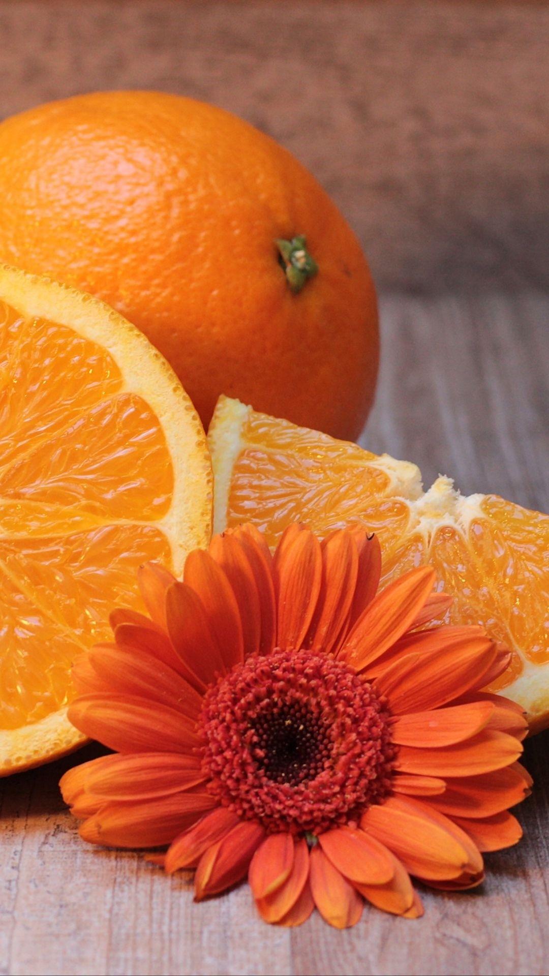Orange iphone 7 wallpaper