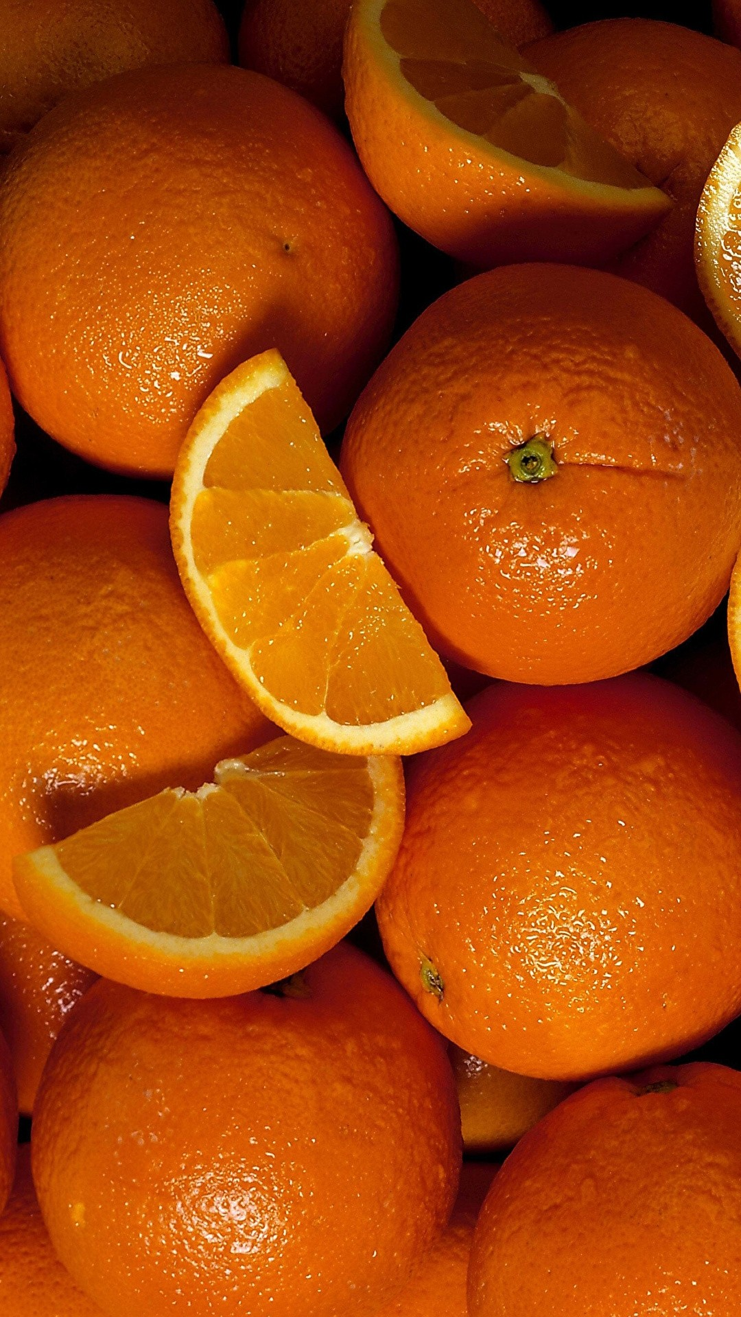 Orange phone wallpaper hd